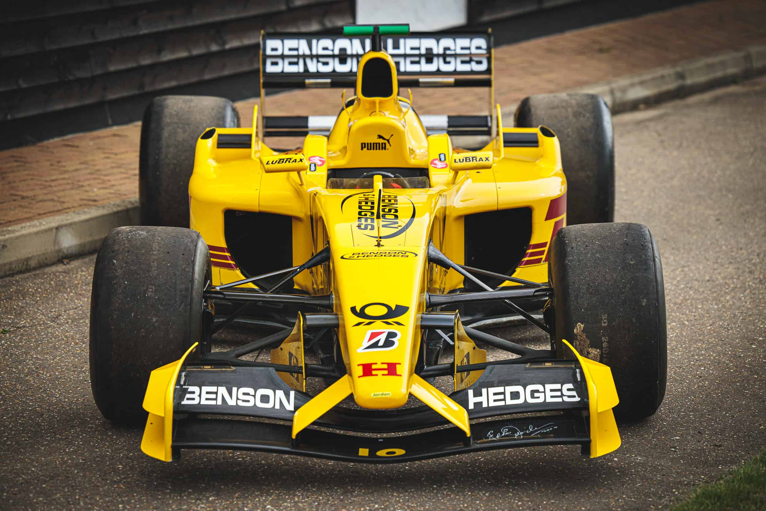 One Of Two Surviving Jordan Ej12 F1 Cars Going To Auction