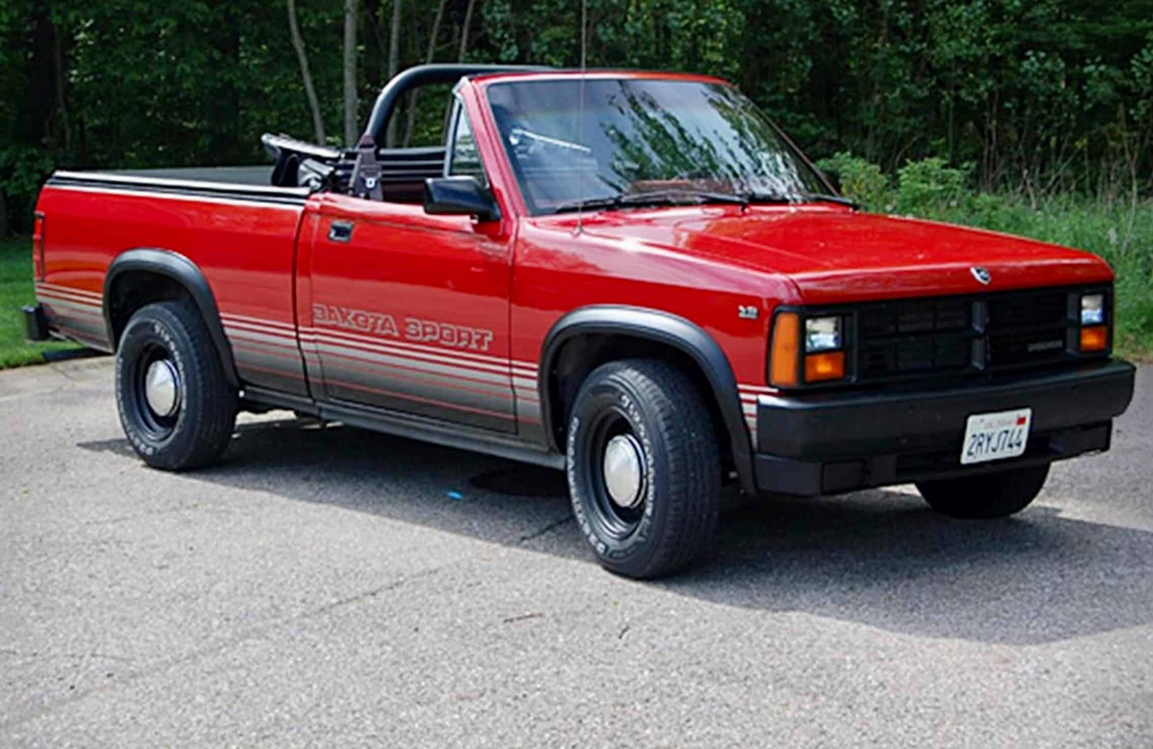 Pick Of The Day This Pickup Truck Has A Convertible Top