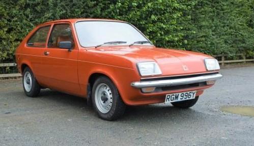 1982 Vauxhall Chevette