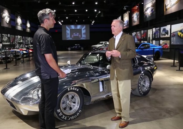 The video of the Day is part one of The Daytona Coupe Story with Peter Brock - The Need for a Faster Cobra.