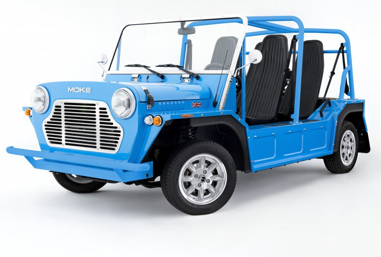 Moke returns with updated beach car