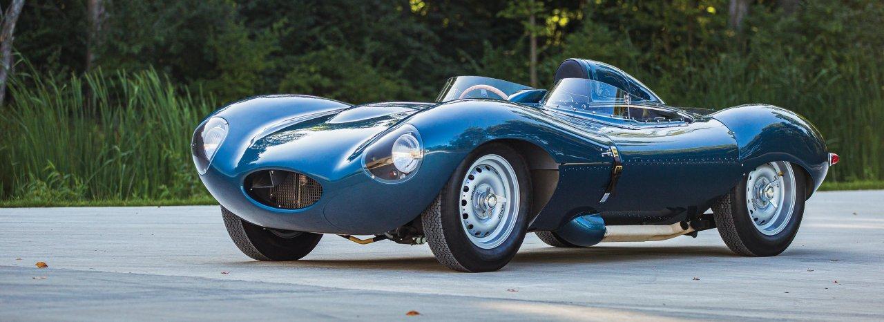 1955 D-Type Jaguar continuation car