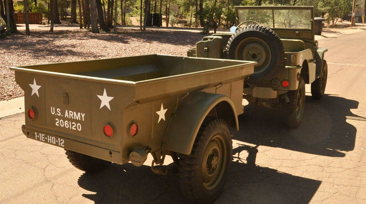 1942 Ford GPW Army Jeep