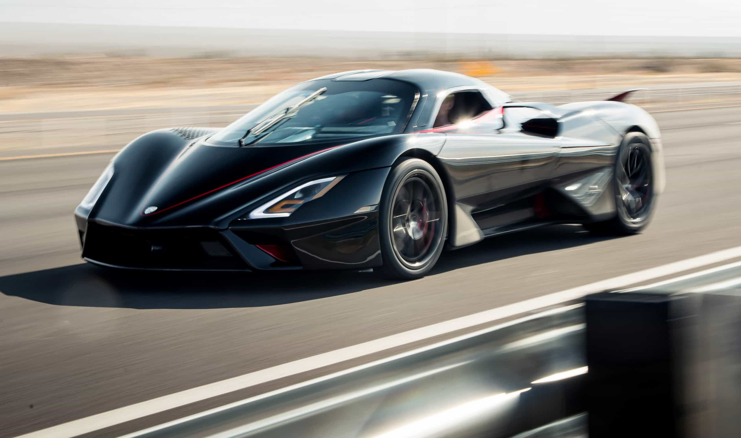SSC Tuatara claims production-car top-speed record