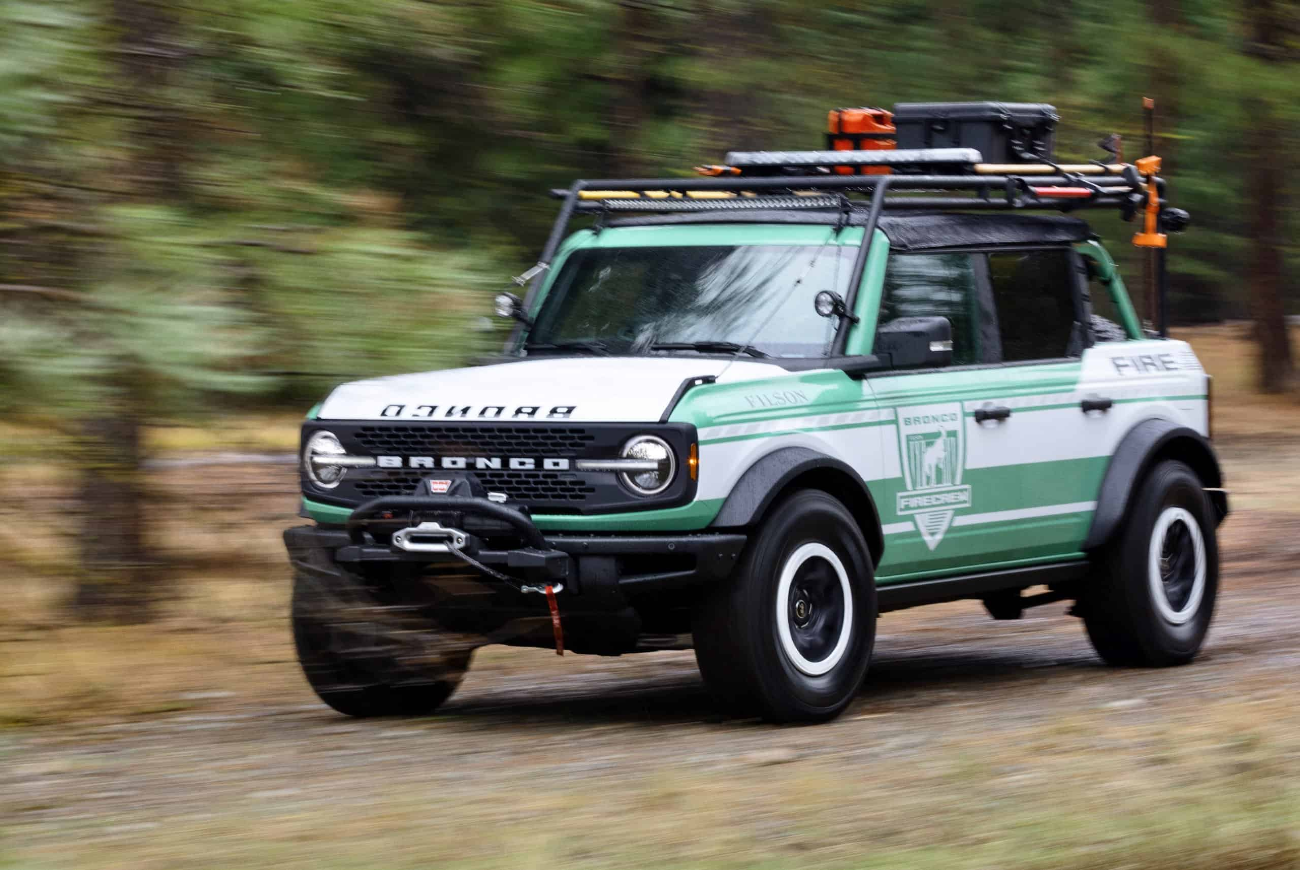 Ford Bronco Wildland Fire Rig Revealed To Support The Forest Service