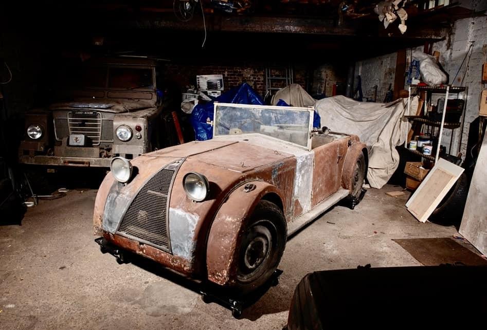 Barn finds, Barn finds, 'Gullwing' highlight Artcurial auction docket, ClassicCars.com Journal