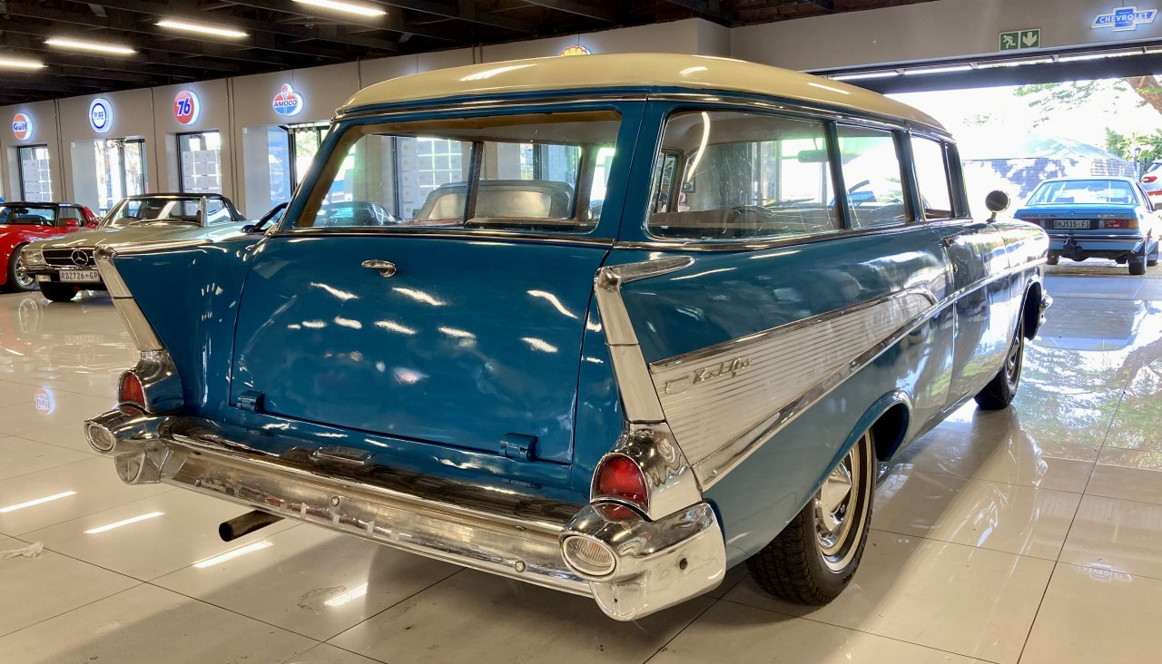 1957 Chevrolet Bel Air station wagon in South African auction private collection