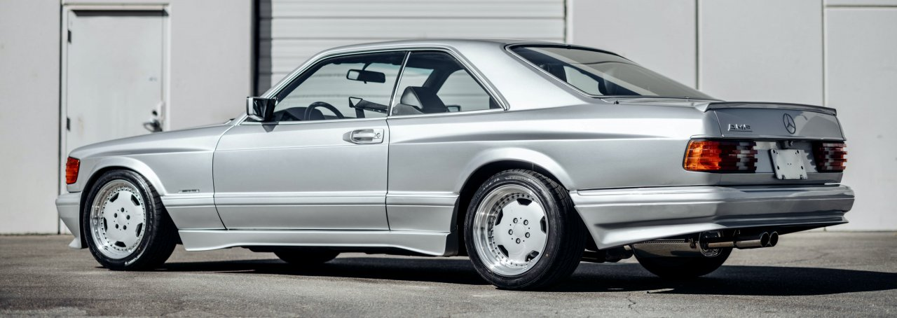 RM Sotheby's 1989 Mercedes-Benz 560 SEC AMG 6.0 'Wide-body'
