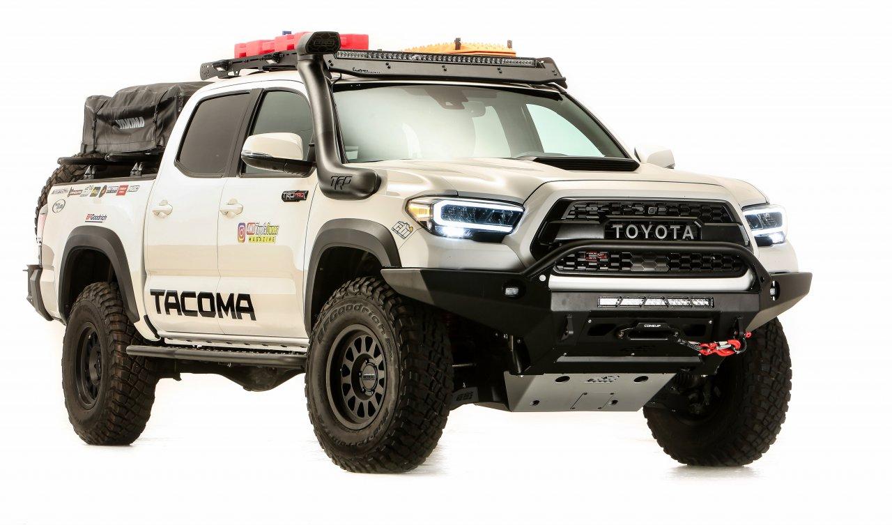 SEMA360, SEMA360: Toyota unveils overland Tacoma, Supra trio, ClassicCars.com Journal