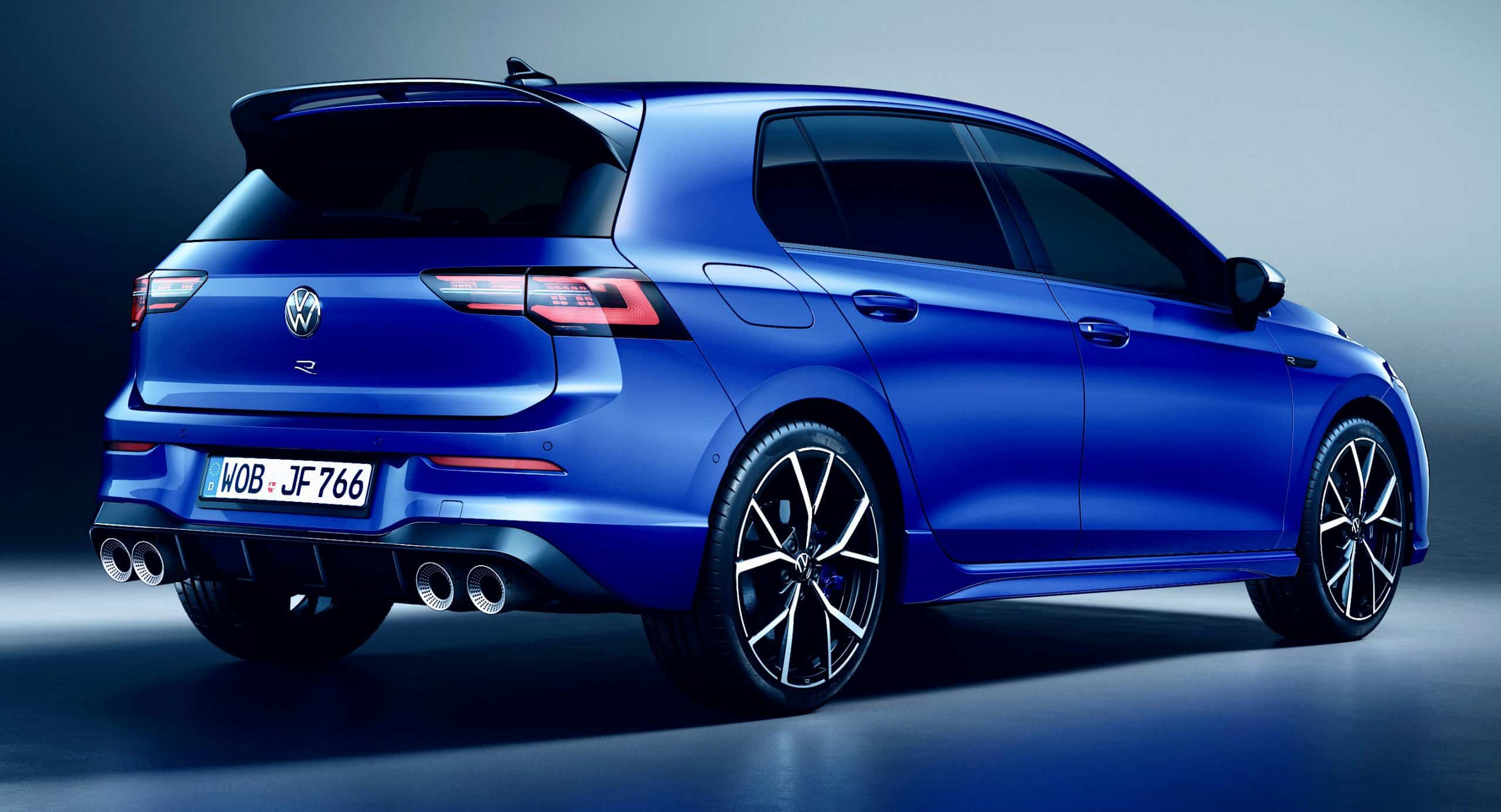 Volkswagen unveils 315-horsepower 2022 Golf R hot hatch