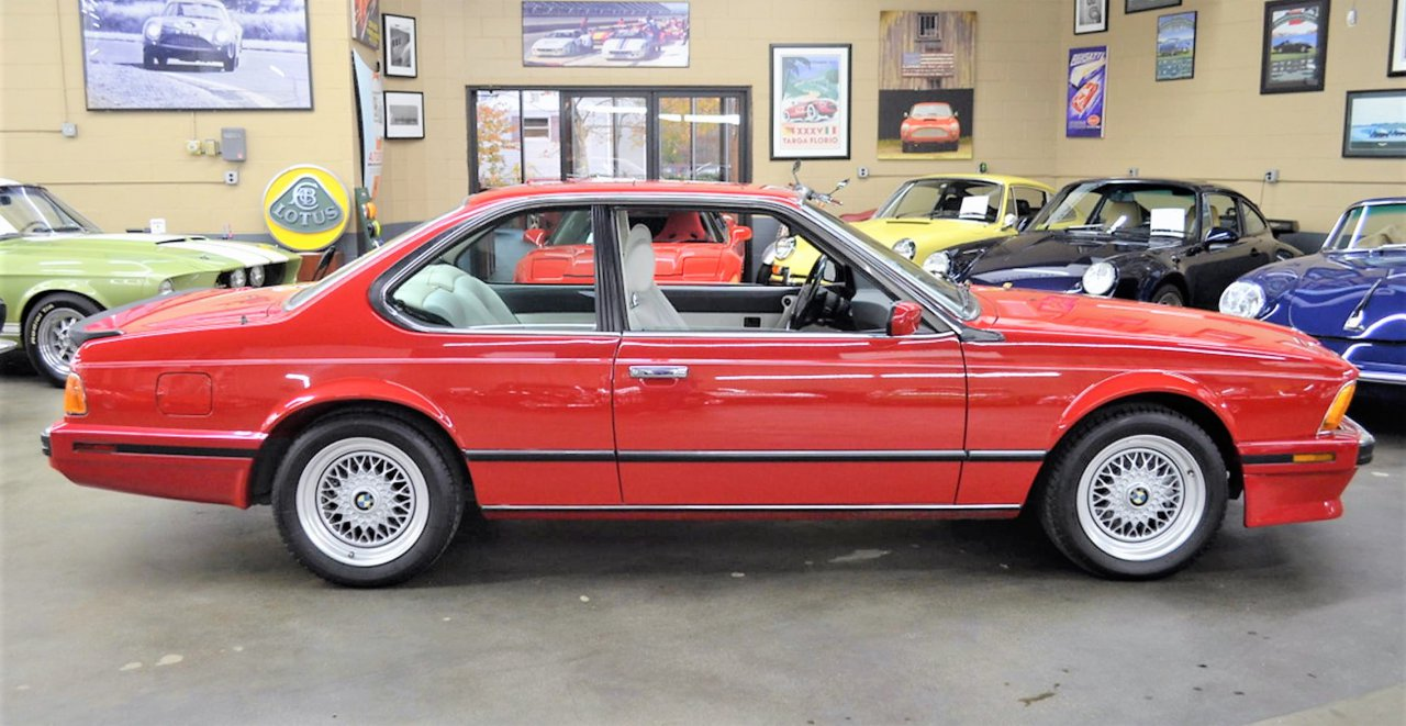 bmw, Pick of the Day: 1988 BMW M6 coupe low-mileage road burner, ClassicCars.com Journal