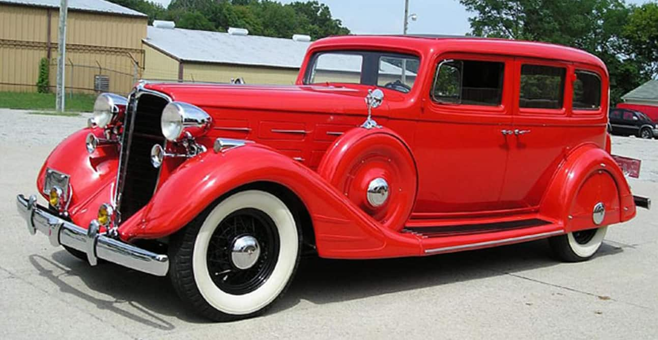 1934 Nash Ambassador