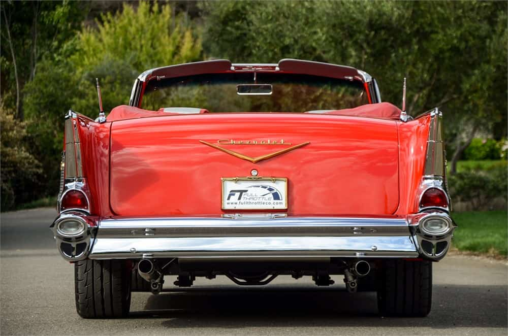 57 Chevy Bel Air Convertible Resto-mod