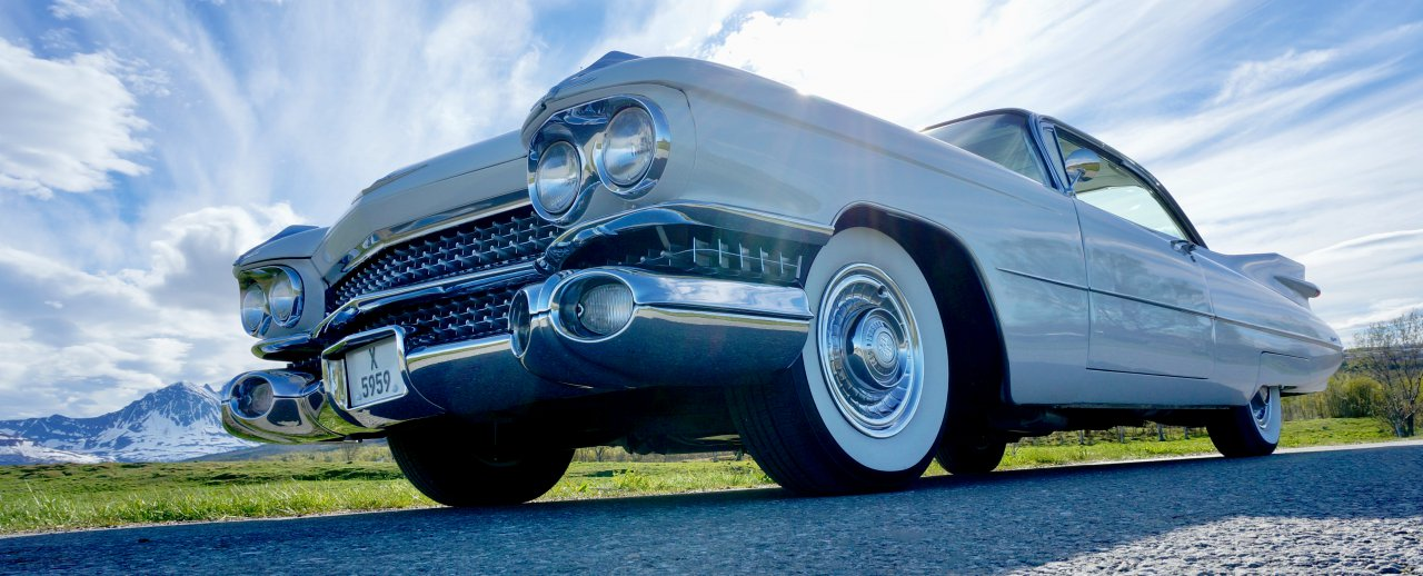 Retro Sound 1959 Cadillac Coupe DeVille   SEMA360 2020