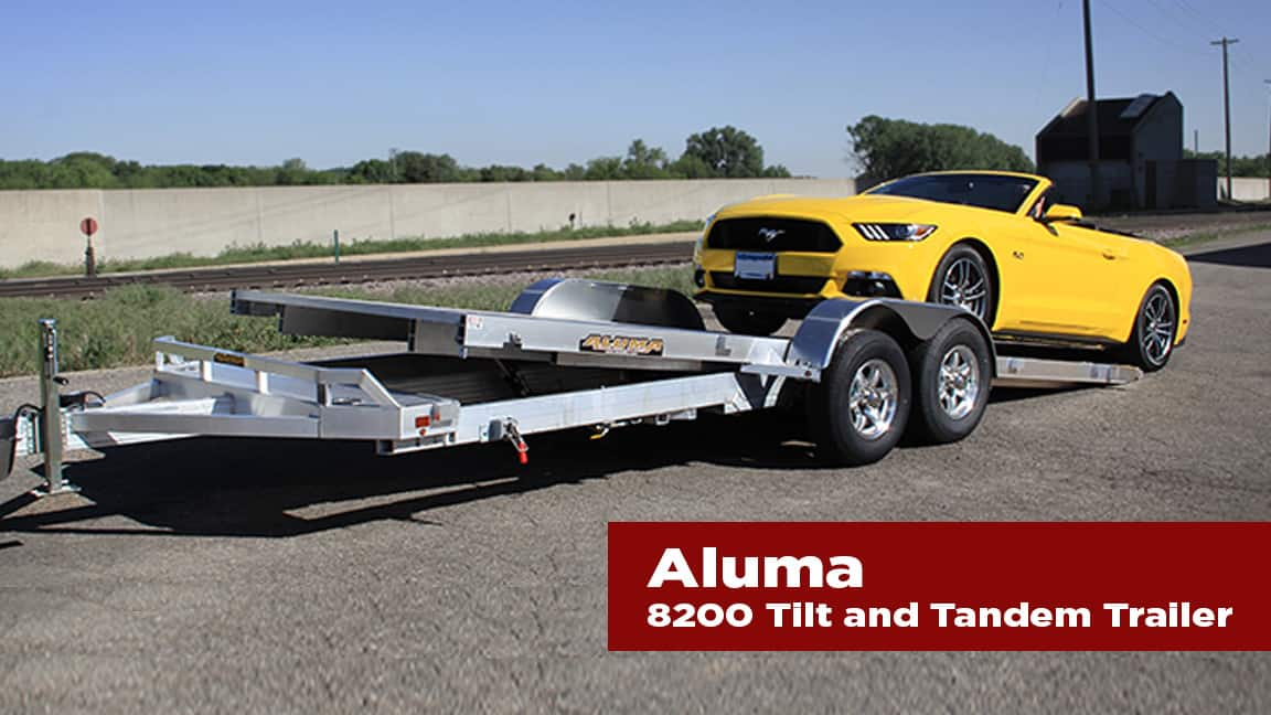 The Journal's holiday gift guide   Aluma 8200 tilt and tandem trailer