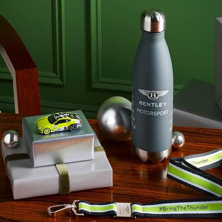 Bentley motorsport water bottle