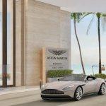 Drop-off at Aston Martin Residences