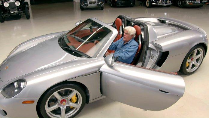 Jay Leno's Garage 2004 Porsche Carrera GT