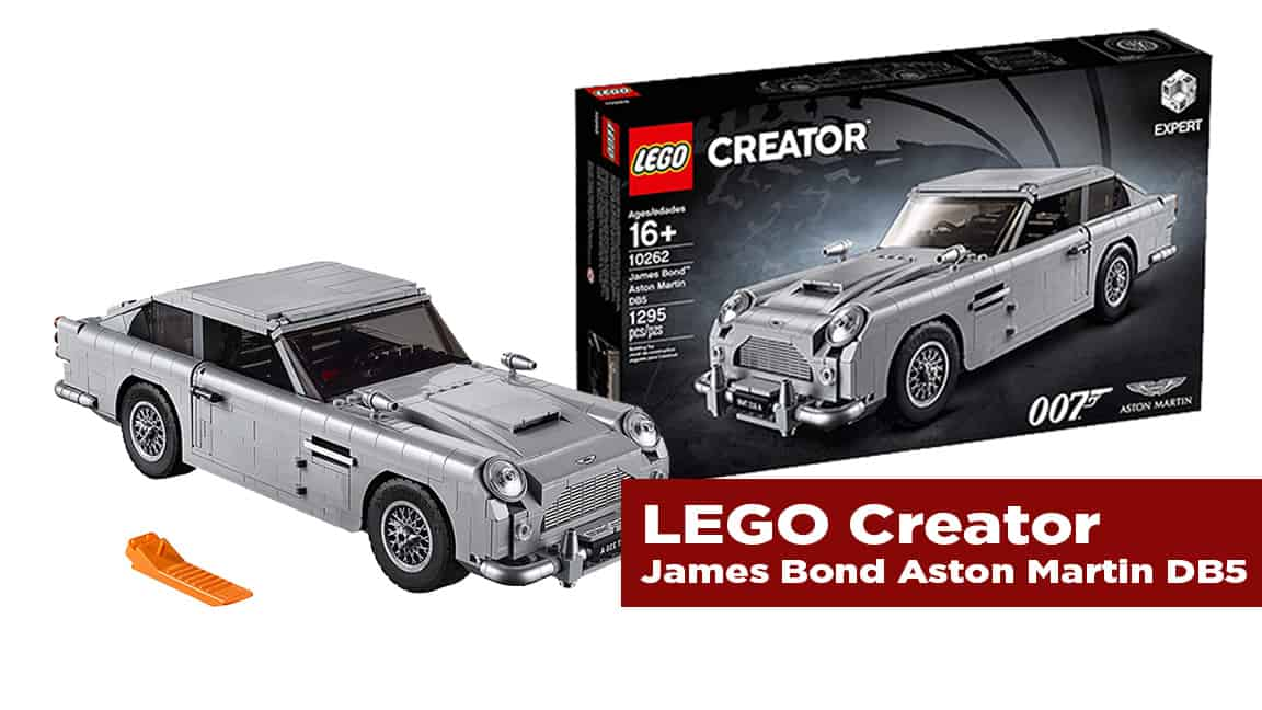 The Journal's holiday gift guide   LEGO creator James Bond Aston Martin D85