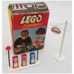Lego Esso Pumps and Sgin 1956