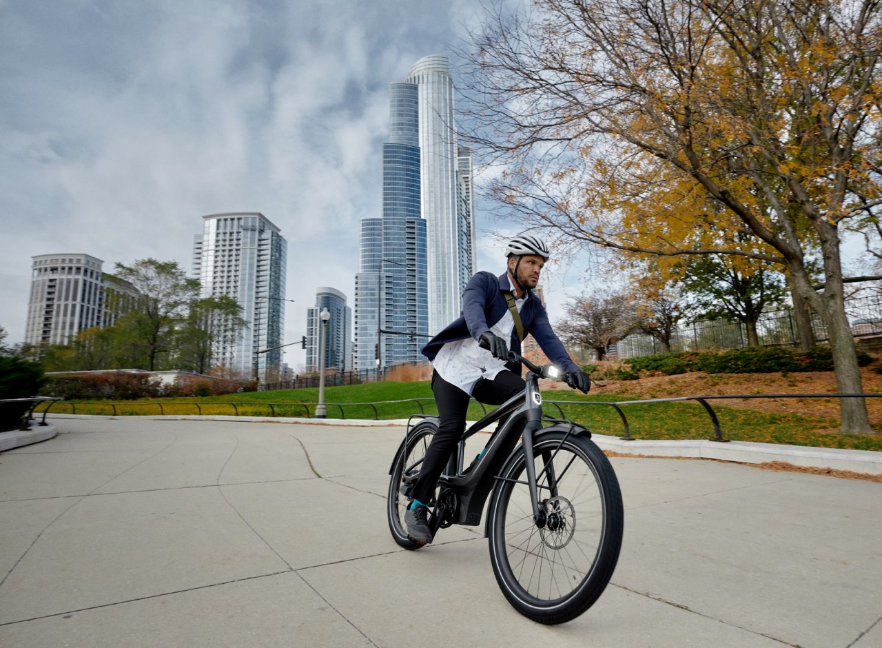 Harley-Davidson electric-powered bicycle