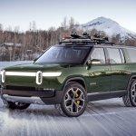 Rivian-SUV-green-snow