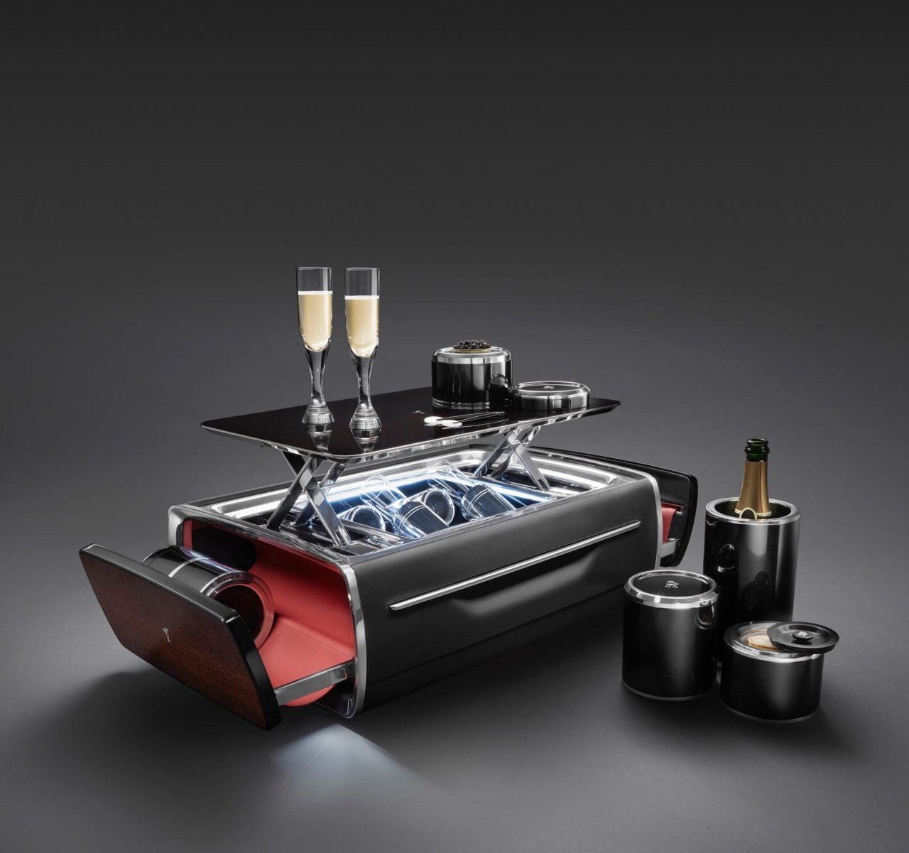 Rolls-Royce Boutique champagne chest