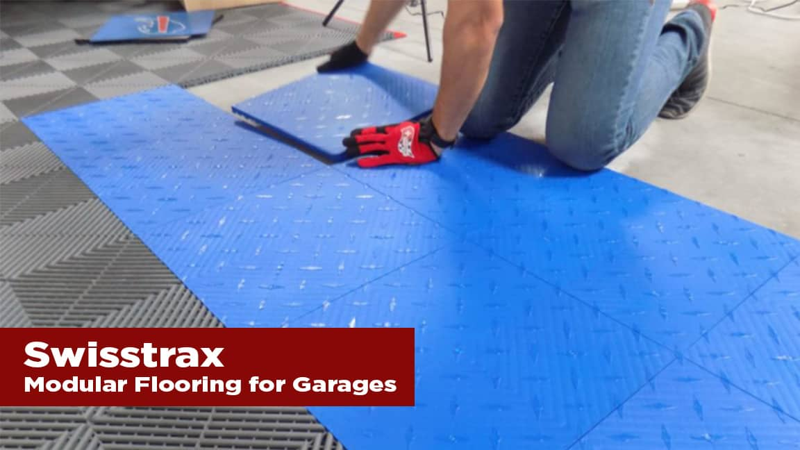 The Journal's holiday gift guide   Swisstrax modular flooring for garages