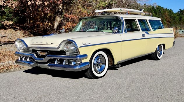 1957 Dodge station wagon