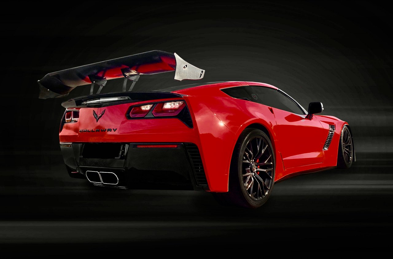 Callaway Corvette rear