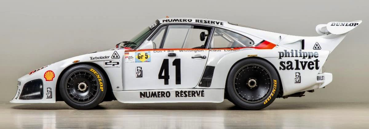 Pebble Beach | 1979 Porsche 935 K3 led a 1-2-3 sweep at Le Mans