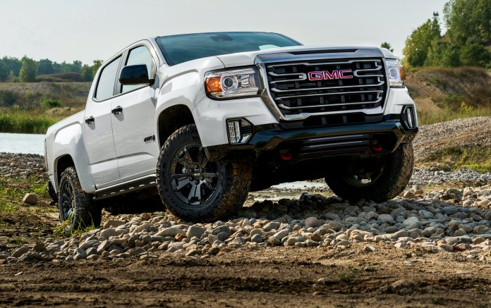 2021 Canyon AT4 Off-Road Performance Edition
