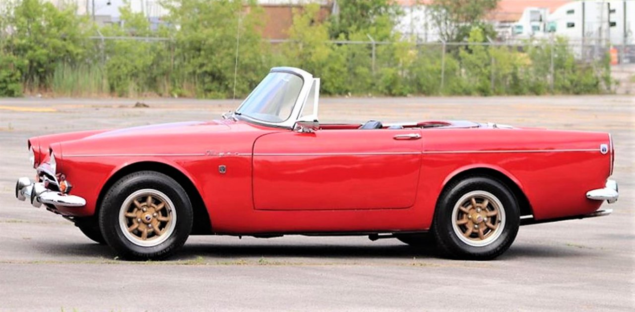 tiger, Pick of the Day: 1965 Sunbeam Tiger, V8-powered British sports car, ClassicCars.com Journal
