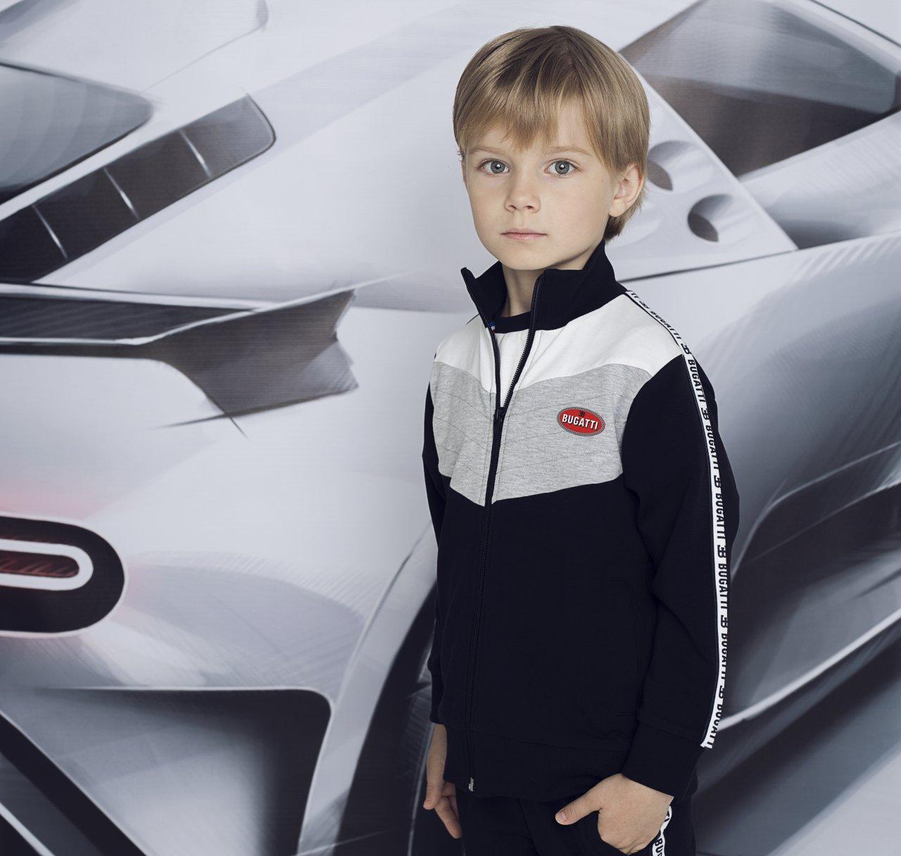 Bugatti's luxury junior fashion line