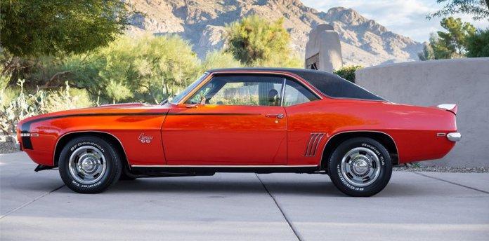 1969 Chevrolet Camaro SS 396 350 4-Speed on AutoHunter