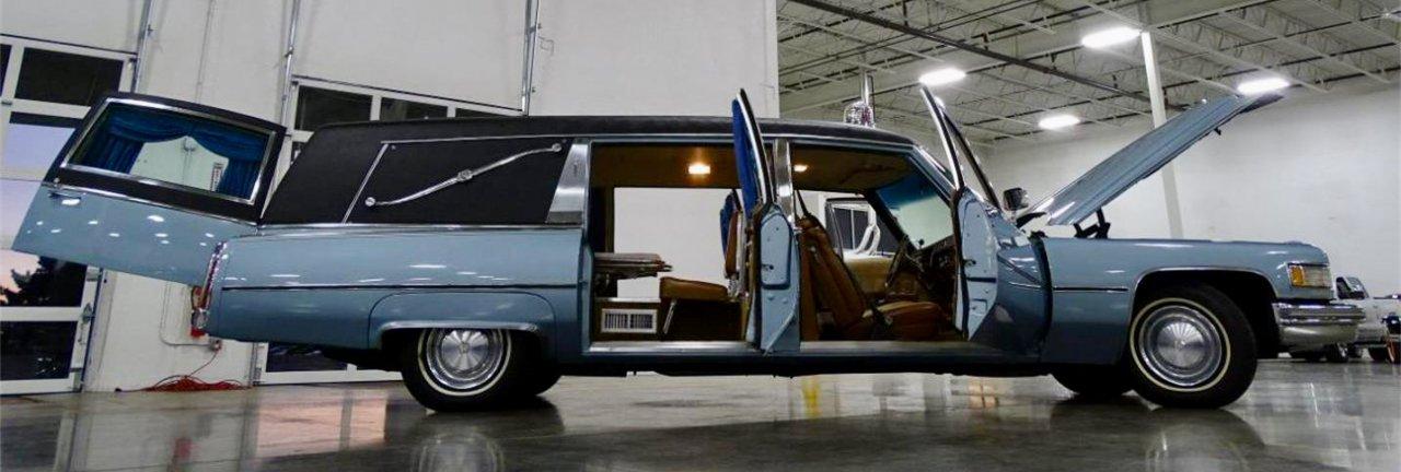 Cadillac hearse