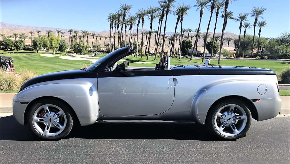 ssr, Pick of the Day: 2005 Chevrolet SSR retro hardtop-convertible pickup, ClassicCars.com Journal