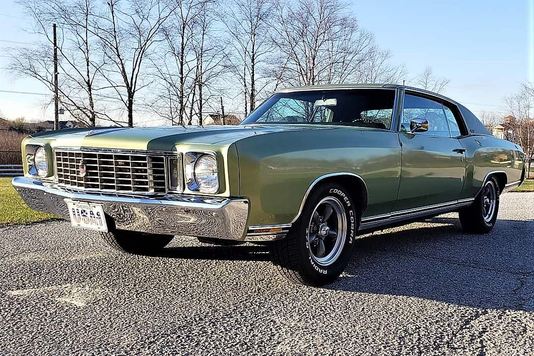 monte carlo, Pick of the Day: '72 Chevrolet Monte Carlo, personal luxury in Grinch green, ClassicCars.com Journal