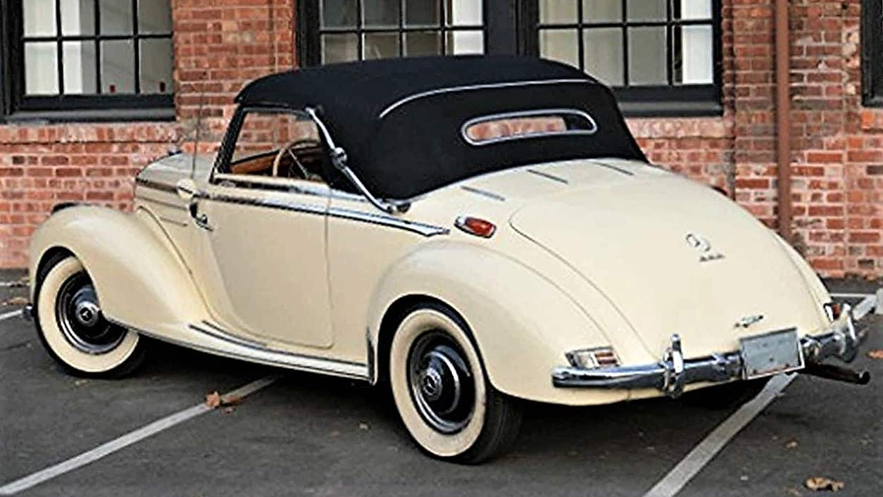 mercedes, Pick of the Day: 1952 Mercedes-Benz 220A Cabriolet luxury touring car, ClassicCars.com Journal