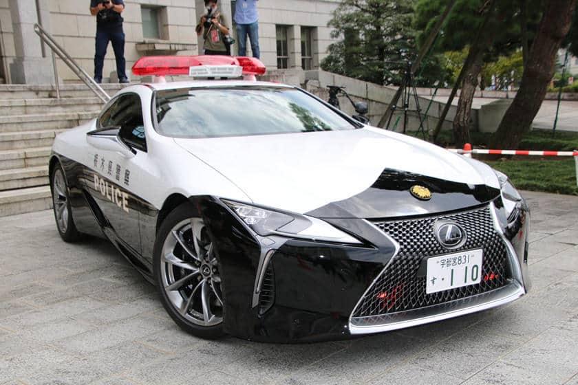 Lexus LC500 – Japan cop car