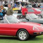 Alfa Romeos at Concorso