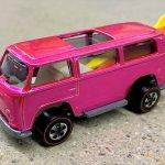 Hot Wheels Volkswagen pink Beach Bomb