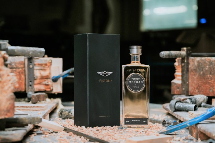 Morgan Motor Company releases world's first gin infused with ash wood
