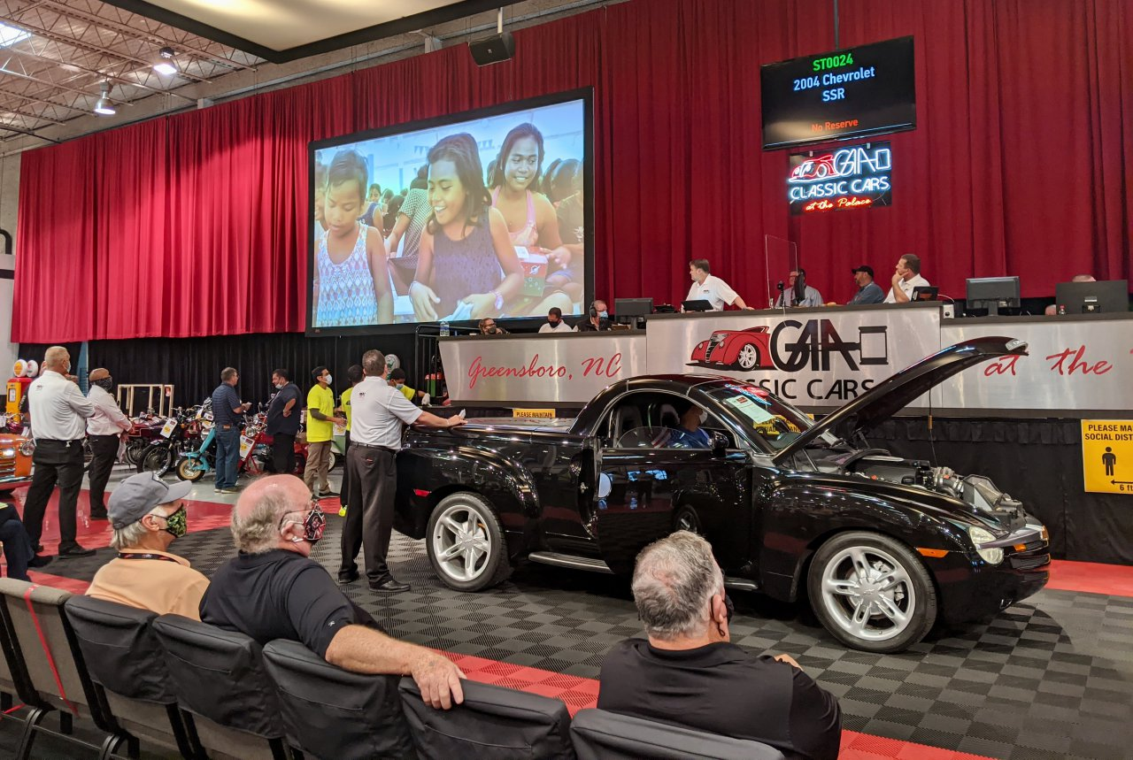 GAA auction Pontiac Fiero