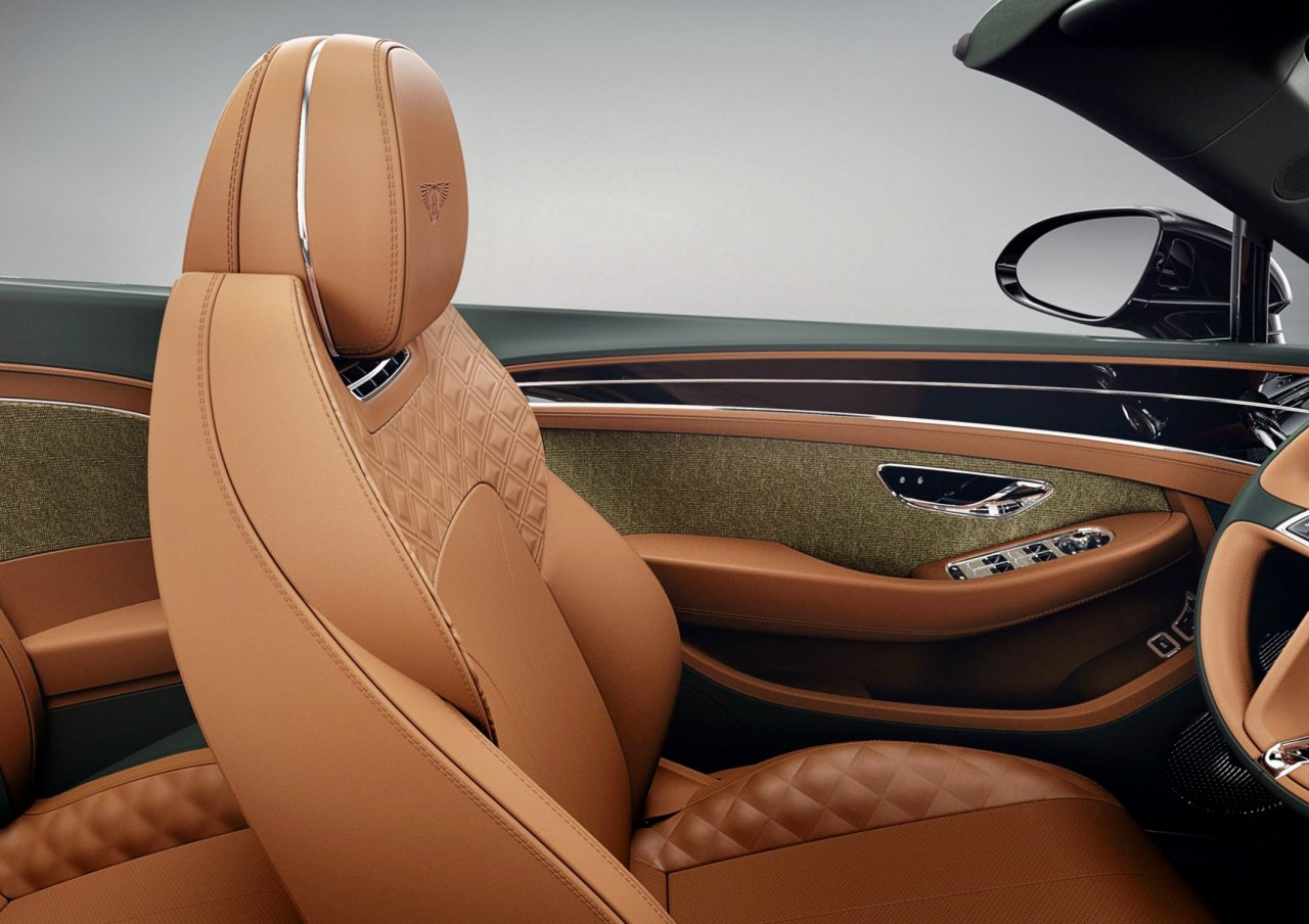 Bentley Adds Tweed Trim To Vehicles Special Options List