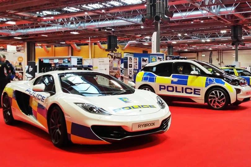 McLaren 12C Spider – UK cop car