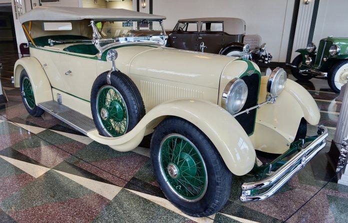 1927 Duesenberg Model X dual-cowl phaeton