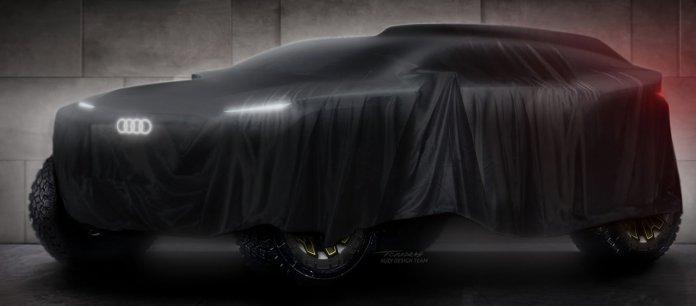 Audi Dakar prototype