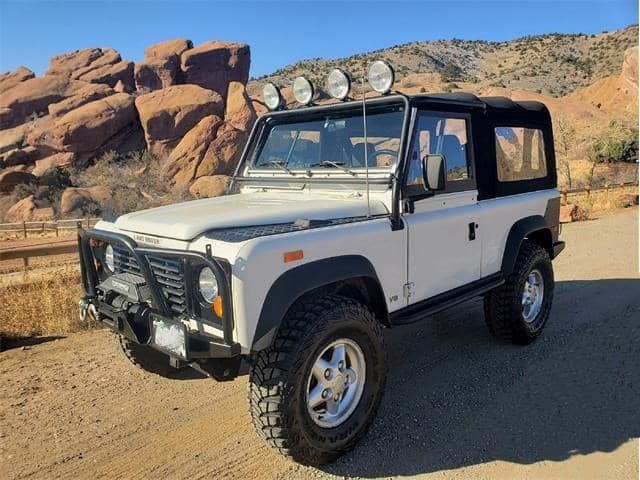 1994 Land Rover Defender 90 NAS 5-Speed  autohunter