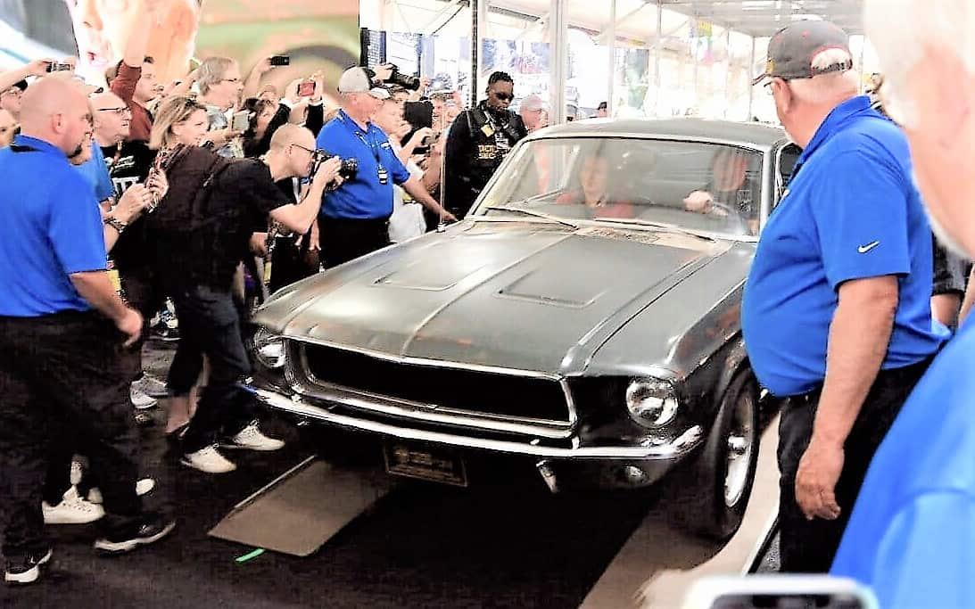 bullitt, Rear view: No.4 – Bullitt, Shelby Mustangs sold for auction records, ClassicCars.com Journal
